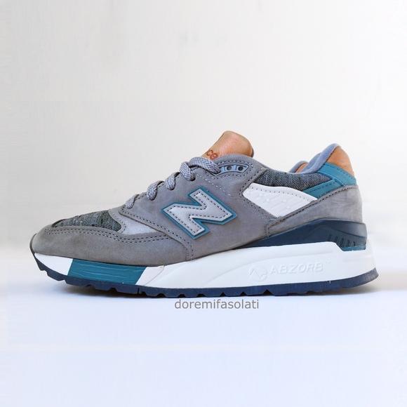93db0920fb47b New Balance Shoes | 998 Usa Grey Sneakers 55 | Poshmark